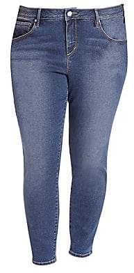 Slink Jeans, Plus Size Women's Ankle-Length Jeggings