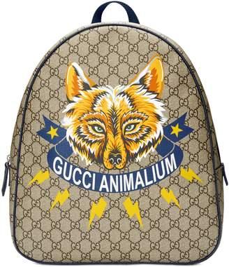 """Gucci Children's GG Animalium"""" backpack"""
