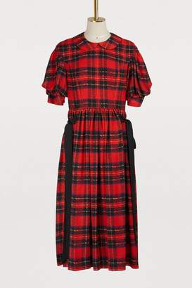 Simone Rocha Checkered dress