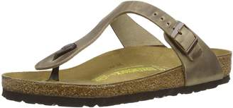 Birkenstock Women's Gizeh Cork Footbed Thong Sandal Tobacco 40 M EU