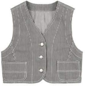 Marc Jacobs Redux Grunge Dobby Stripe Vest