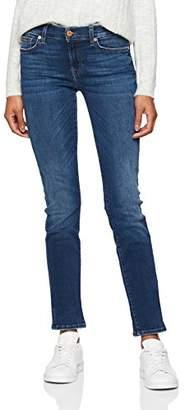 7 For All Mankind Seven International SAGL Women's Mid Rise Roxanne Slim Jeans,W25/L33 (Manufacturer Size: 25)