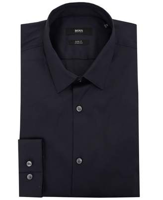 Boss Black Tailoring Ilan Slim Fit Darted Shirt