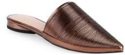 AVEC LES FILLES Alessia Leather Mules
