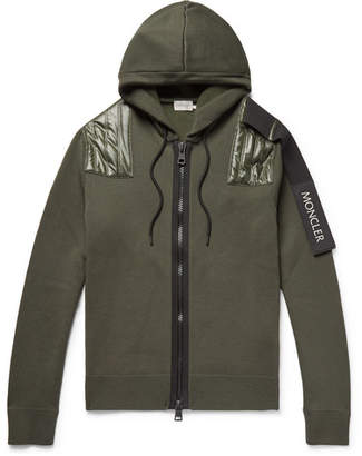 Craig Green Moncler Genius 5 Moncler Nylon-Panelled Wool-Blend Zip-Up Hoodie