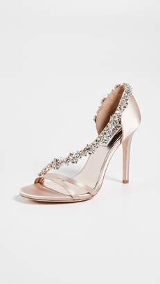 Badgley Mischka Voletta Asymmetrical Sandals