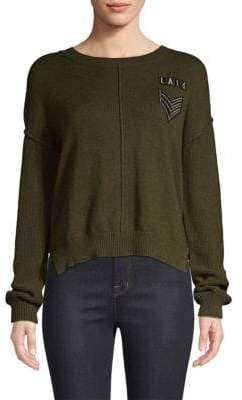 Rails Stafford Patch Cotton & Cashmere Sweater