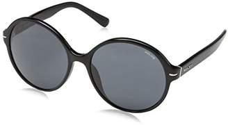 Police Sunglasses Women's S1967 Sandy 3 Round Sunglasses