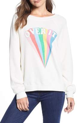 Wildfox Couture Sommers - Over It Sweatshirt