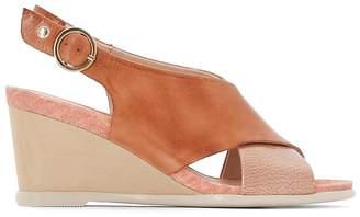 PIKOLINOS Vigo W3R Leather Wedge Sandals