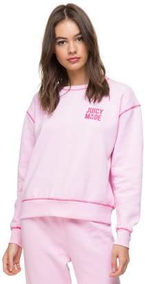 Juicy Couture JXJC Fleece Juicy Made Pullover