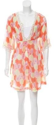 Diane von Furstenberg Kynthia Sheer Dress
