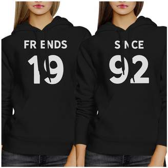 3549f0e7f03 365 Printing Friends Since Custom Hoodie Pullover Personalized Gift For  Friends