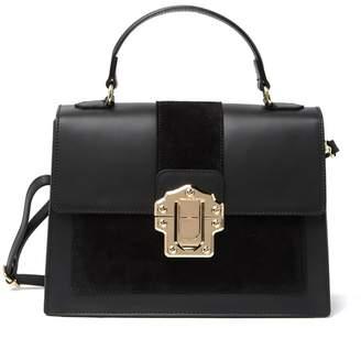 Isabella Collection Rhea Single Top Handle Leather Shoulder Bag