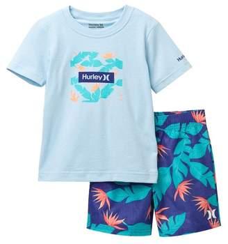 Hurley Hanoi Board Shorts Set (Toddler Boys)