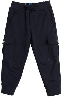 Dolce & Gabbana Cotton Sweatpants W/ Cargo Pockets