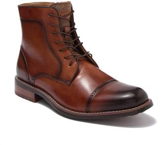 Kenneth Cole Reaction Brogue Cap Toe Lace-Up Boot