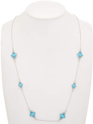 Judith Ripka Silver Station 34In Necklace