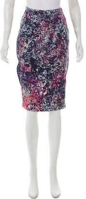 Nomia Knee-Length Silk Skirt