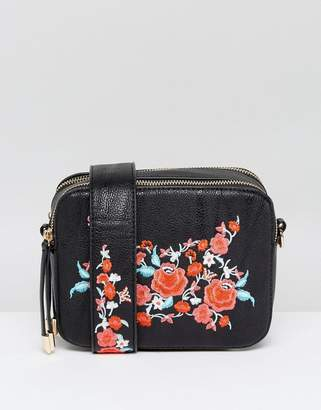 Oasis Embroidered Camera Bag