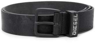 Diesel buckle distressed belt