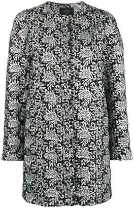 Giambattista Valli embroidered cardi-coat