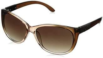 Adrienne Vittadini Women's AV1022 Cateye Sunglasses