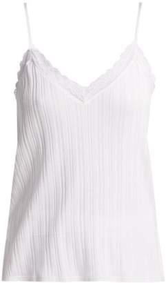 Bea Yuk Mui Skin Pima Cotton Tank Top - Womens - White
