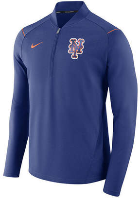 Nike Men's New York Mets Dry Elite Half-Zip Pullover