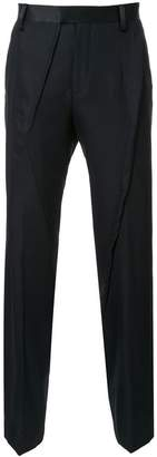 Undercover stitched detail trousers