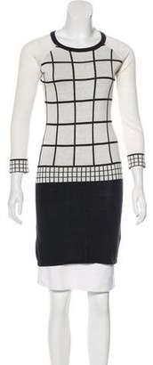Trina Turk Long Sleeve Sweater Dress