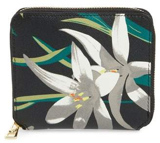 Diane von Furstenberg Small Leather Zip Wallet
