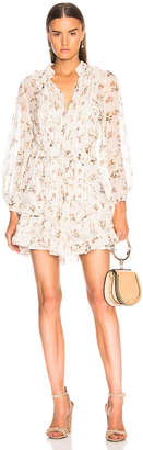 Zimmermann Breeze Pintuck Mini Dress