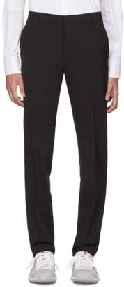 Prada Black Wool Trousers