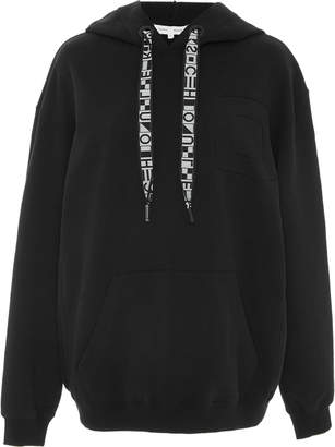 Proenza Schouler PSWL Oversized Cotton Hooded Sweatshirt