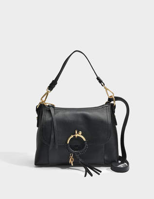 See by Chloe Joan Small Crossbody Bag in Black Small Grain Cowhide Leather