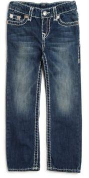 True Religion Little Boy's Ricky Super-T Jeans $129 thestylecure.com