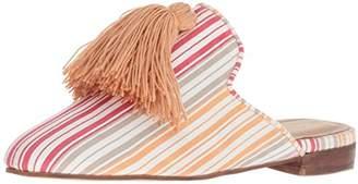 Kaanas Women's Cocuy Striped Slide Tassel Shoe Mule