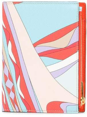 Emilio Pucci Burle Print Bi-Fold Wallet