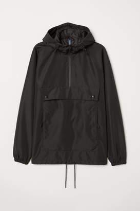 H&M Jacket with Raglan Sleeves - Black