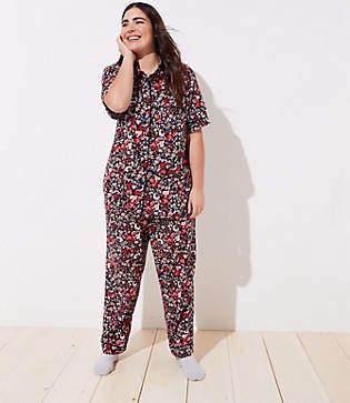 LOFT Plus Primrose Pajama Set