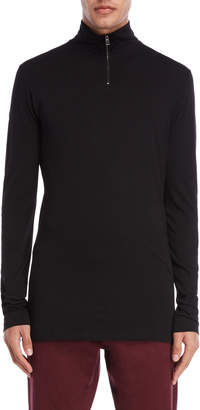 Imperial Star Black Quarter-Zip Pullover