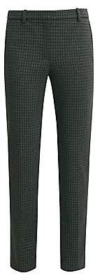 Theory Women's Houndstooth Knit Tailored Trousers