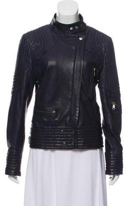 Andrew Marc Quilted Leather Jacket