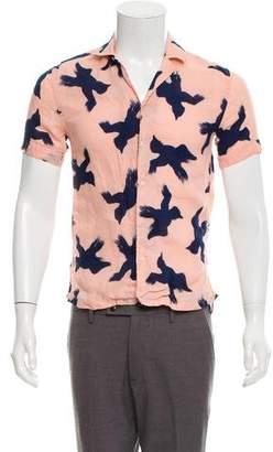 Burberry Printed Linen Shirt