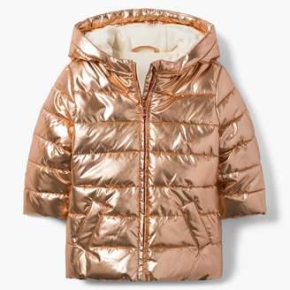 Gymboree Metallic Puffer Jacket