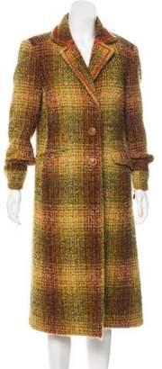 Etro Long Wool Coat