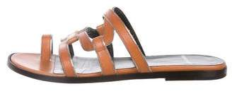 Pierre Hardy Leather Slide Sandals