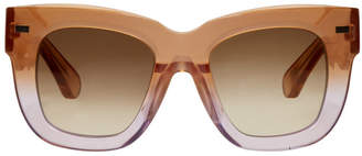 Acne Studios Orange Library Sunglasses