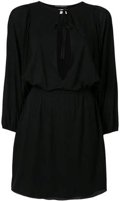 Saint Laurent key-hole mini dress